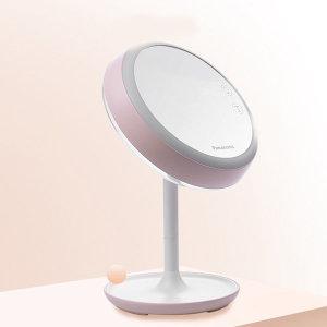조명거울 파나소닉 충전식 메이크업조명 화장조명 핑크