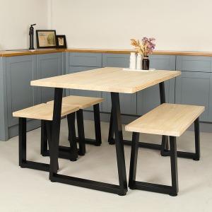 철제 테이블다리 책상 식탁 좌탁 벤치 프레임