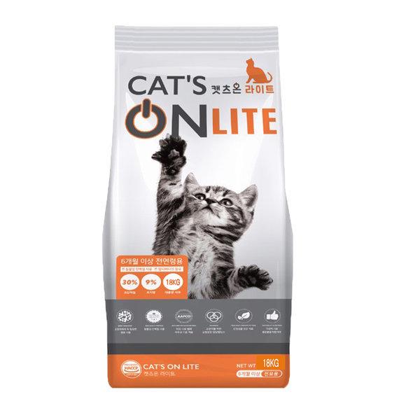 캣츠온라이트18kg 길고양이 대용량