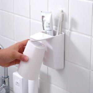 자석 칫솔걸이 욕실용품 칫솔함
