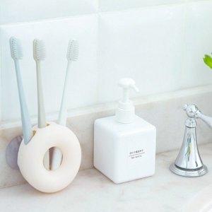 흡착식 칫솔걸이 큐방칫솔걸이 칫솔함 욕실용품