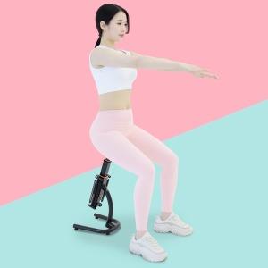 비핏 스쿼트머신 홈트레이닝 실내 힙업 하체운동기구