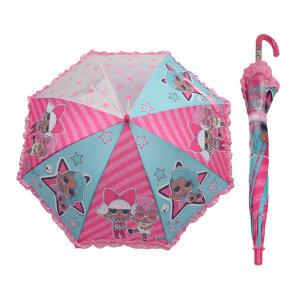 엘오엘 스트라이프 53 우산 (자동우산) 아동 초등학생