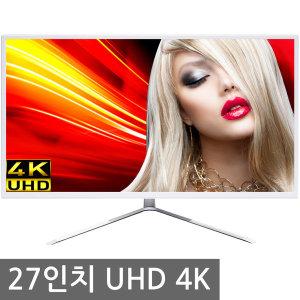 4K모니터 27인치 LED 컴퓨터 UHD 모니터 그래픽디자인