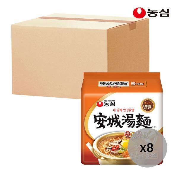 안성탕면 125g 5개입 멀티팩 X 8개 BOX