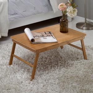 원목 베드트레이/ 소파 침대책상/ 좌식 접이식테이블