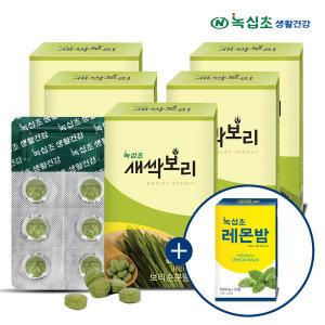 새싹보리 분말 30정x5박스+레몬밤30정/폴란드산 보리순