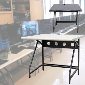 로엠가구 900 철재 입식 컴퓨터 pc방 책상