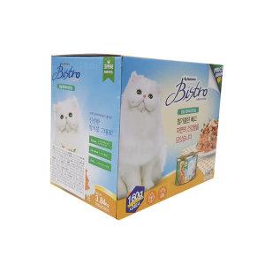 뉴트리나 비스트로 고양이캔 160gX24개 고양이간식