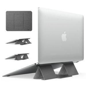 폴딩2 스탠드 노트북 아이패드 태블릿 거치대 그레이