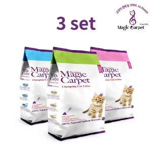 (현대Hmall)먼지없는 고양이모래 매직카펫 3개셋트