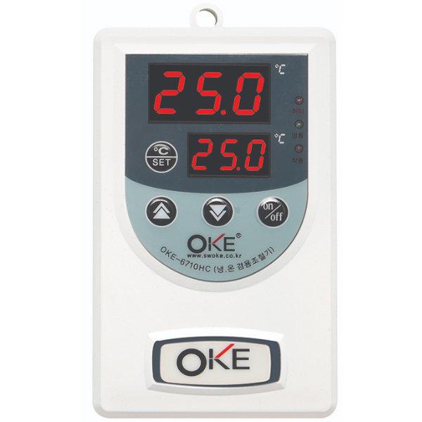 세원 자동 온도조절기 OKE-6710HC 냉각 히터 겸용