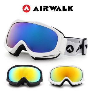 AW-2400S 미러렌즈 보드 스키고글 안경병용