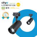 NEW LED 렌즈투광기 COB 30W형 블랙 웜화이트(4000K)