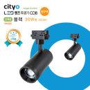 NEW LED 렌즈투광기 COB 30W형 블랙 전구색(3000K)