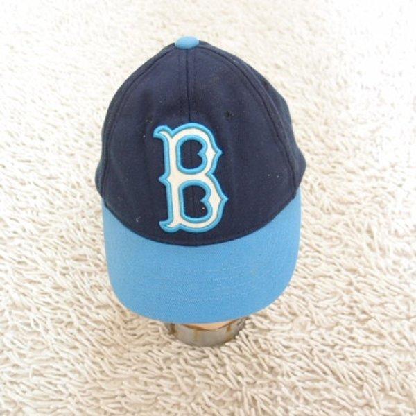 MLB / 면 투톤 입체 로고 자수 야구 모자/아동51