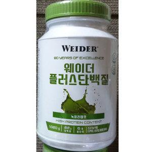 웨이더 플러스 프로틴 단백질보충제 1020g 녹차라떼맛