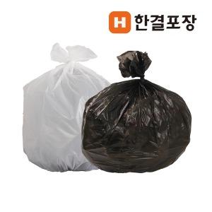 재활용 쓰레기 비닐봉투 100리터 대형 검정 배접봉지