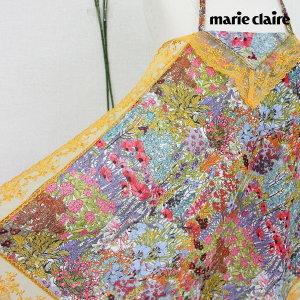 마리끌레르 꽃동산 레이스 에티켓 빅 손수건 60 x 60