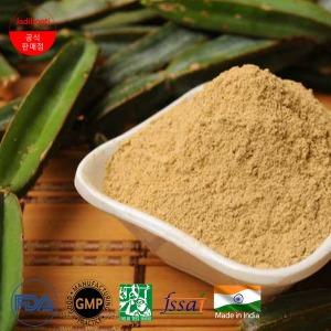 100% 유기농 인도산 천연 시서스 가루 분말 400g