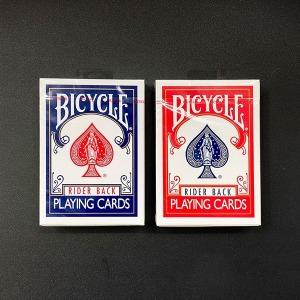 바이시클카드 808 라이더백 플레잉카드 마술카드 포커