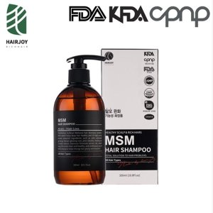 MSM 탈모 샴푸 식이유황 헤어조이 두피성지루염 어성초