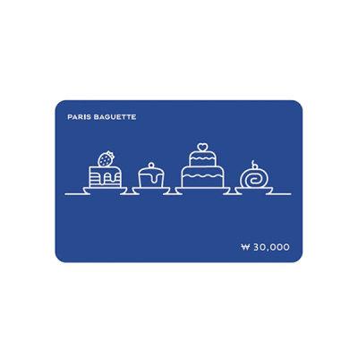 [파리바게뜨] (파리바게뜨) 파바 모바일 3만원권