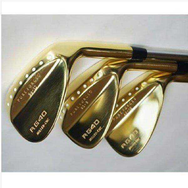 RG40 CNC 황금 골프 웨지 RG40 웨지(황금) 3개1세트