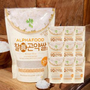 알파푸드 찰곤약쌀 200g x 30개 SET (곤약함량 99.9%)