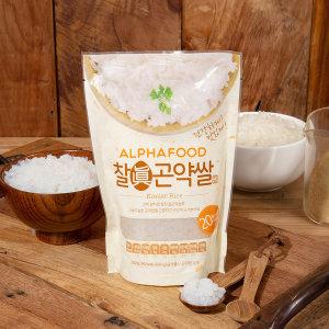 알파푸드 찰곤약쌀 200g (곤약함량 99.9%)
