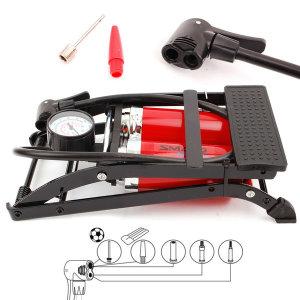 쌍발펌프 발펌프 자전거펌프 에어펌프 공기주입 튜브