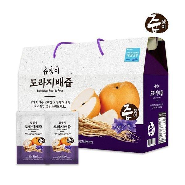 즙쟁이 도라지배즙 1박스/30팩