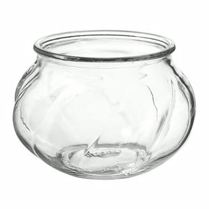이케아 빌리에스타르크 꽃병 원형 유리