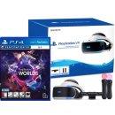 PS4/PSVR 신형 본체 플레이스테이션VR 3번셋 +VR 월드