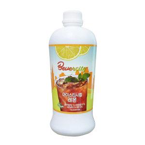 세미 후루티 레몬향 아이스티 시럽 2kg 1박스 6개