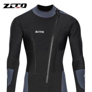 ZCCO 남녀 5 mm다이빙 따뜻한 겨울 두껍게 잠수복 012