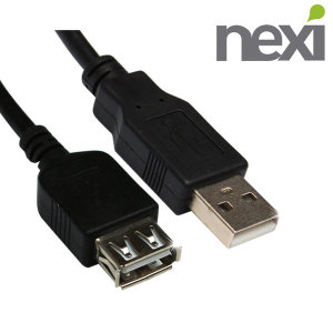 넥시 USB2.0 AM-AF 연장 3M 케이블 NX5