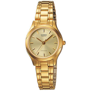 카시오 LTP-1275G-9A 금장메탈 손목시계 여성패션