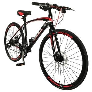 나이즈700C 27단 40mm이중림 기계식 하이브리드자전거