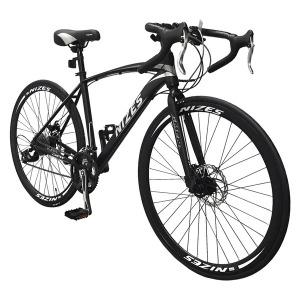 나이즈D 하이브리드자전거 27단 40mm림 로드사이클