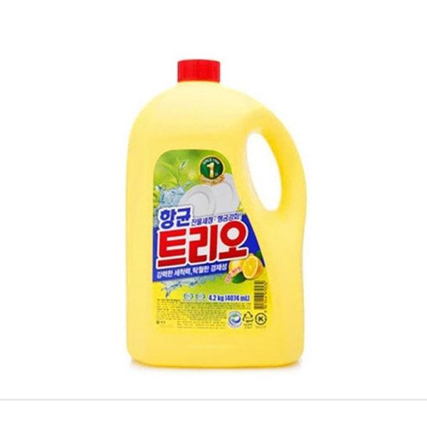 애경 트리오 주방세제 향균 4.2kg 퐁퐁 주방용품