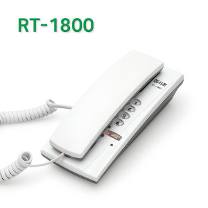 R1800 벽걸이전화기 깔끔 심플 호텔 모텔 전용전화기