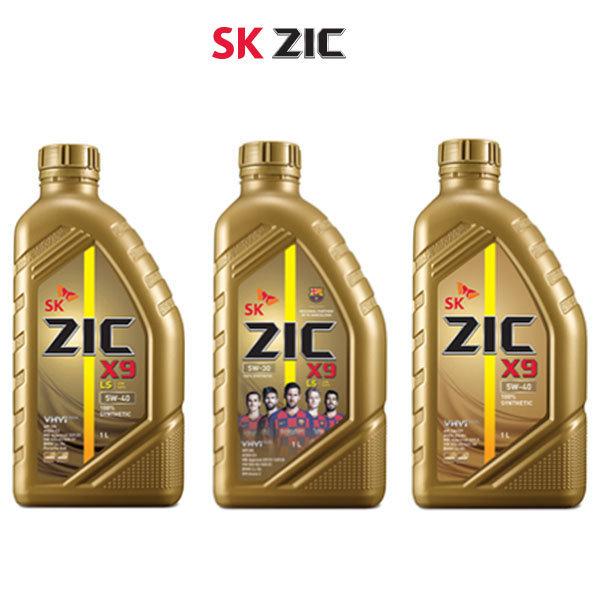 지크/X9 5w40 1L/엔진오일/ZIC LS 5W30/가솔린  디젤