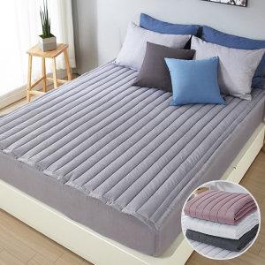 (보드래) 여름 침대패드 침대커버 카페트 알러지케어