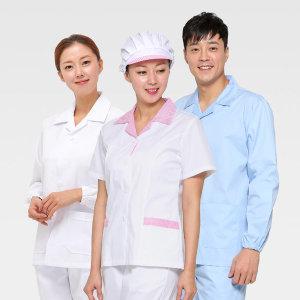 반팔/긴팔/기능성위생복/위생모자와위생바지동시구매