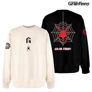 그랜피니 스파이더 맨투맨 티셔츠 M3