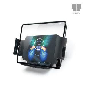 NV66-WCC10Q 차량용 폴더블폰용 와이드무선고속충전기