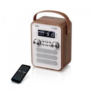 블루투스스피커 BA-C7 FM/USB/알람시계/AUX/8시간재생