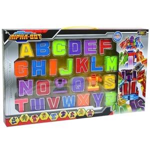 알파벳변신로봇 어린이장난감선물 영어학습
