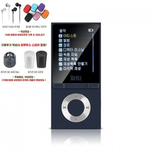BZ-MP4580BL 블루투스 MP3 MP4플레이어 FM라디오